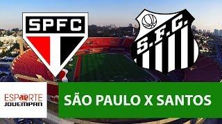 São Paulo 1 x 0 Santos - 20/05/18 - Brasileirão