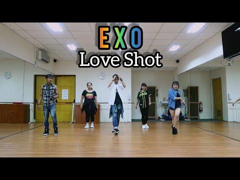EXO 엑소 Love Shot Choreography By Asbar  ZUMBA  FITNESS  DANCE  At PHKT Balikpapan
