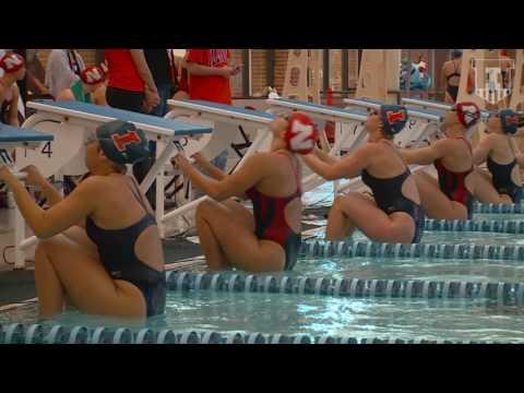 Illini Swim & Dive vs Nebraska 1-21-17