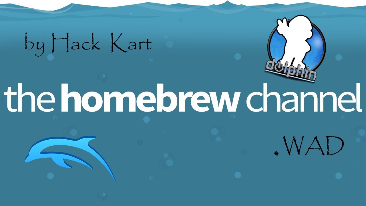 How to load Homebrew Channel on Dolphin [2018] (wad)