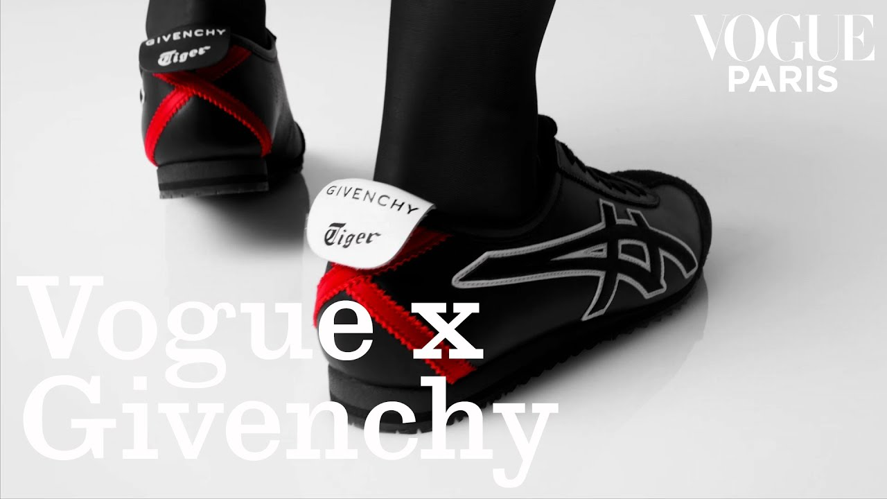 Givenchy insuffle l'excellence couture aux sneakers « Mexico 66 » d'Onitsuka Tiger