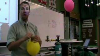 Helium and Sulfur Hexafluoride Demo