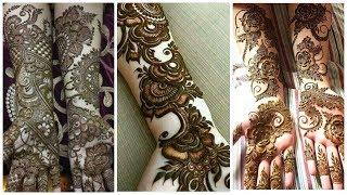 Beautiful Bridal Hands Mehndi Designs Ideas