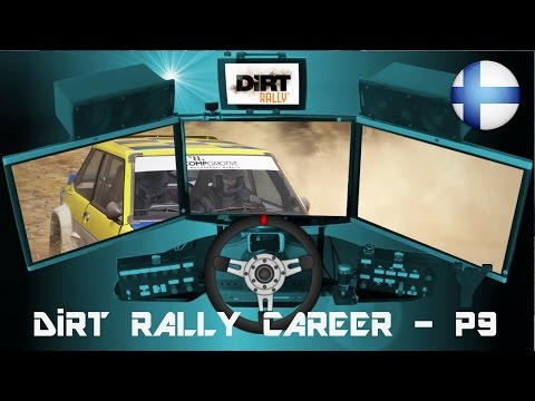 DiRT Rally Career - Part 9 (Fiat 131 Abarth at Finland)