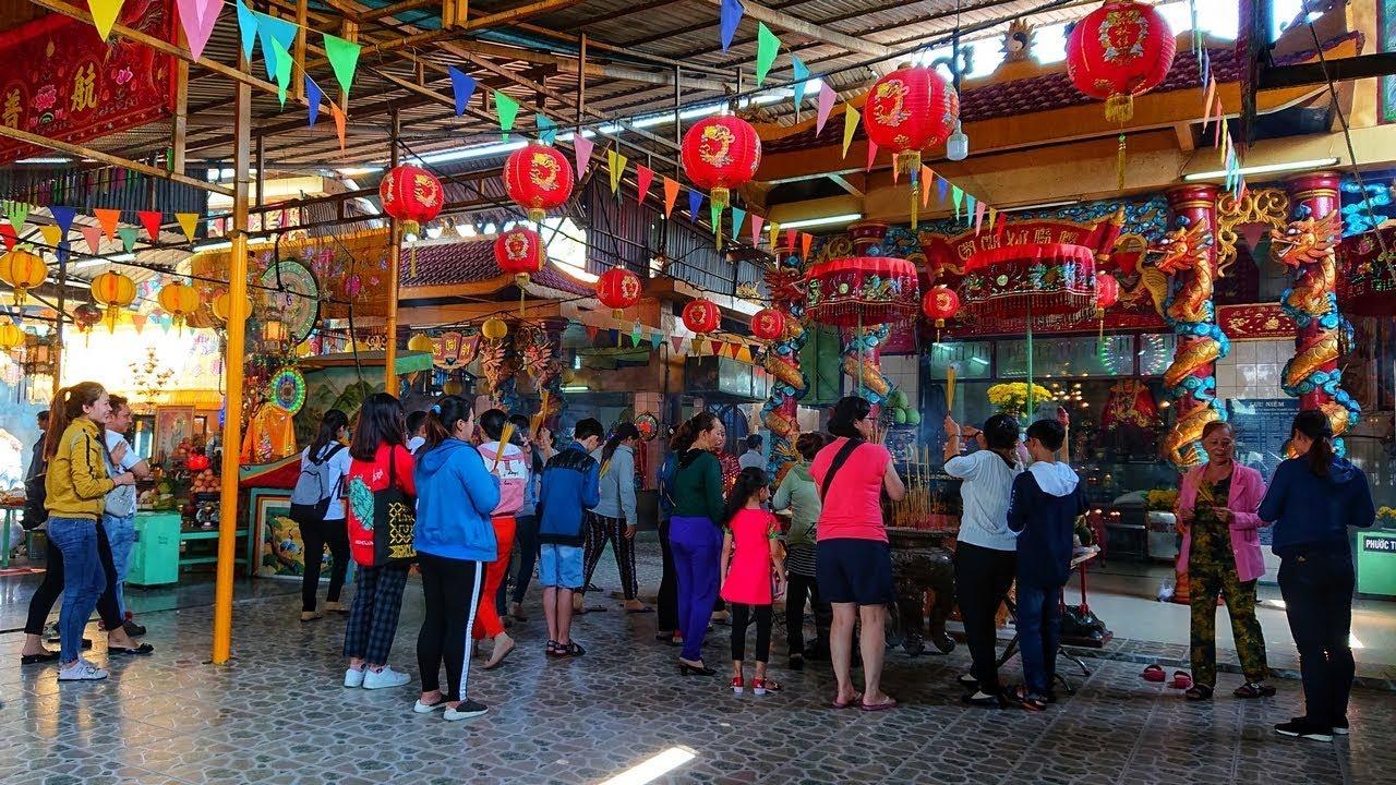 Vía Bà Chúa Xứ ở Chùa Bà Châu Đốc 2 Phú Xuân Nhà Bè Tp.HCM