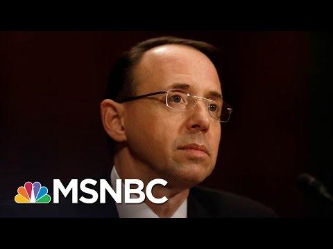 Rod Rosenstein Briefing Indicates Russia Investigation Deepening | Morning Joe | MSNBC