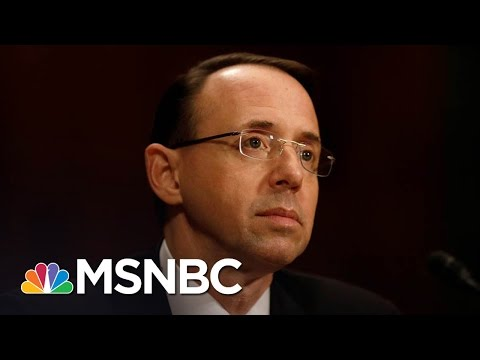 Rod Rosenstein Briefing Indicates Russia Investigation Deepening   Morning Joe   MSNBC