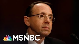 Rod Rosenstein Briefing Indicates Russia Investigation Deepening | Morning Joe | MSNBC