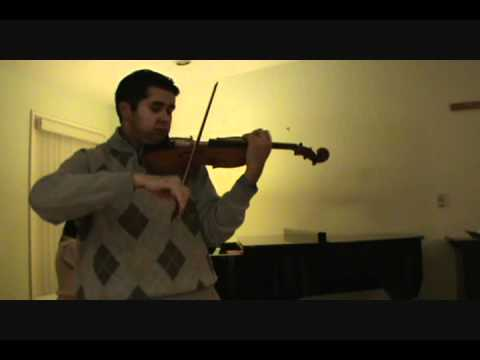 Dance of the Blessed Spirits by C. W. von Gluck - Nathaniel Robinson violin