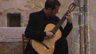 Andrea Dieci (guitar) plays Amours Perdues arr. Takemitsu