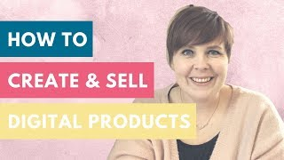 How to create & sell digital products  DIVERSIFYING INCOME | DIGITAL PRODUCT CREATION