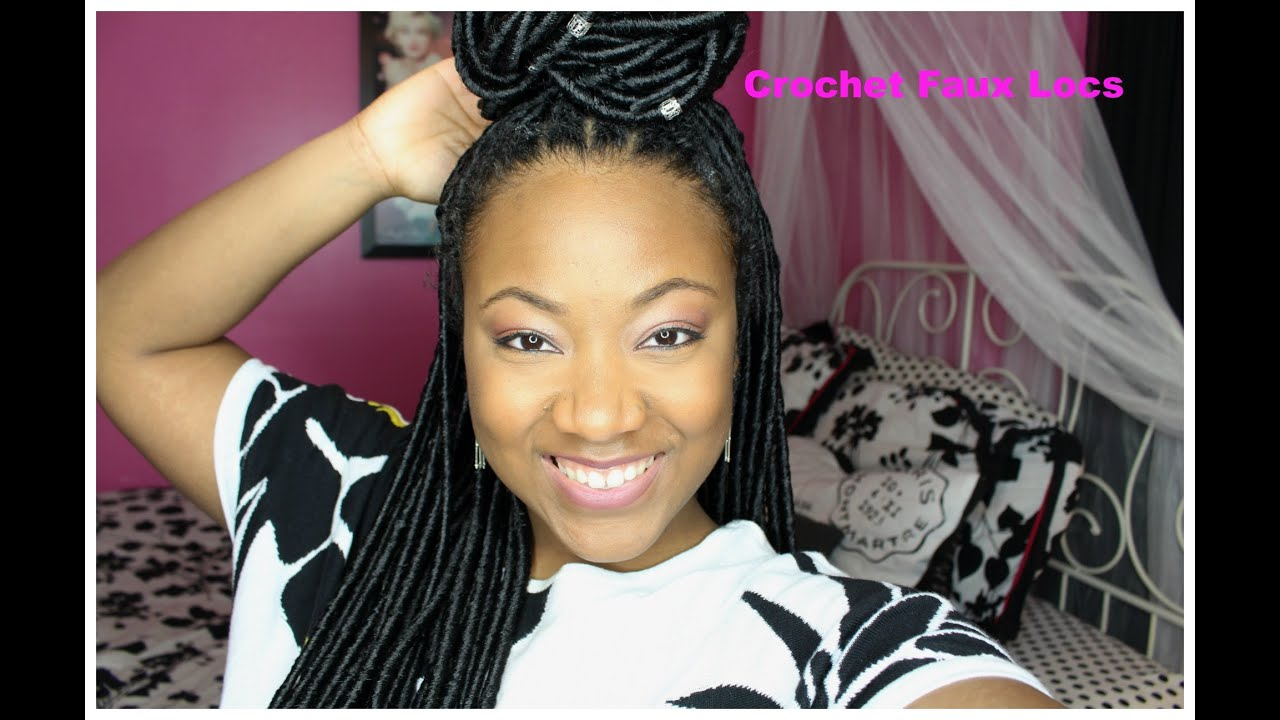 Faux Loc Crochet Hair Janet Collection : How to:Janet Collection Havana Mambo Faux Locs Crochet Braids Review ...