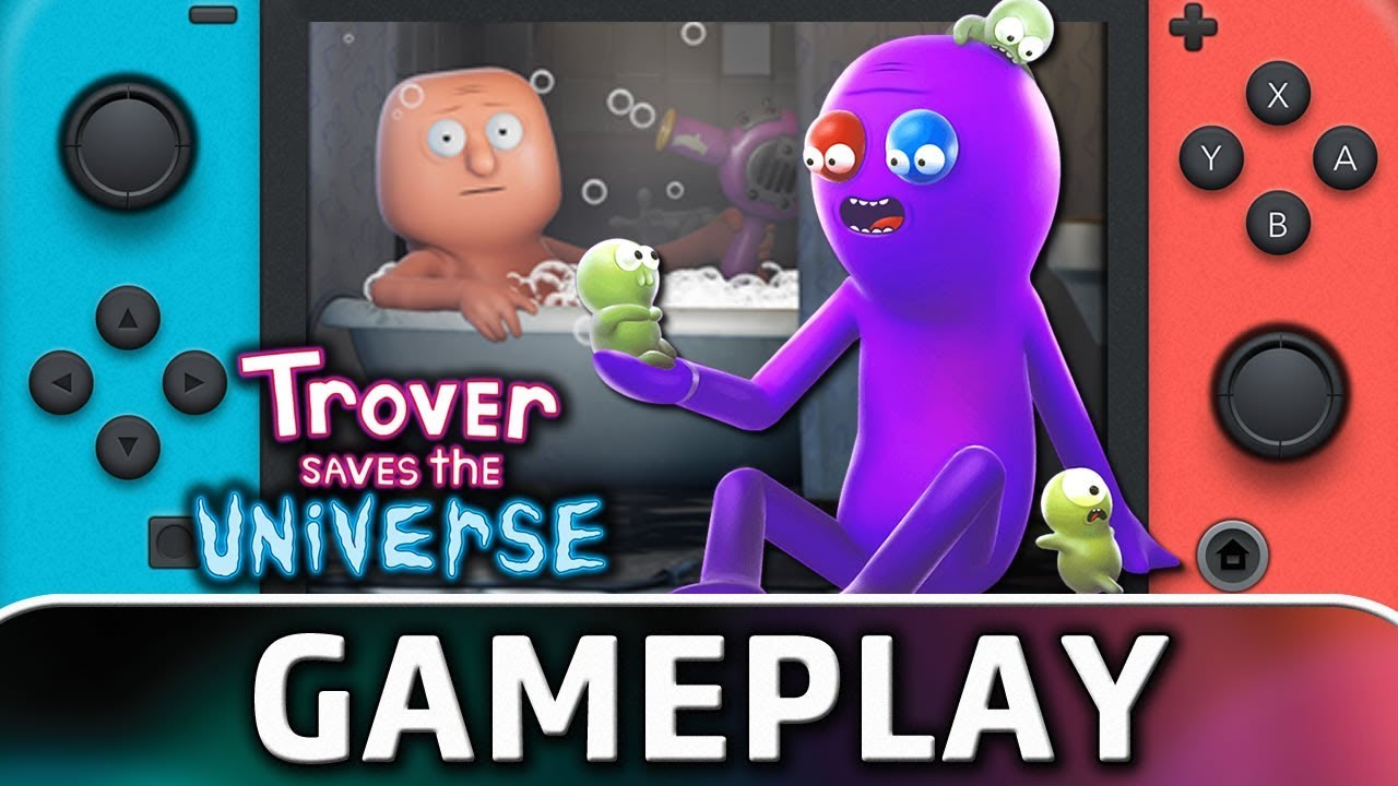 Trover Saves The Universe | First 25 Minutes on Nintendo Switch