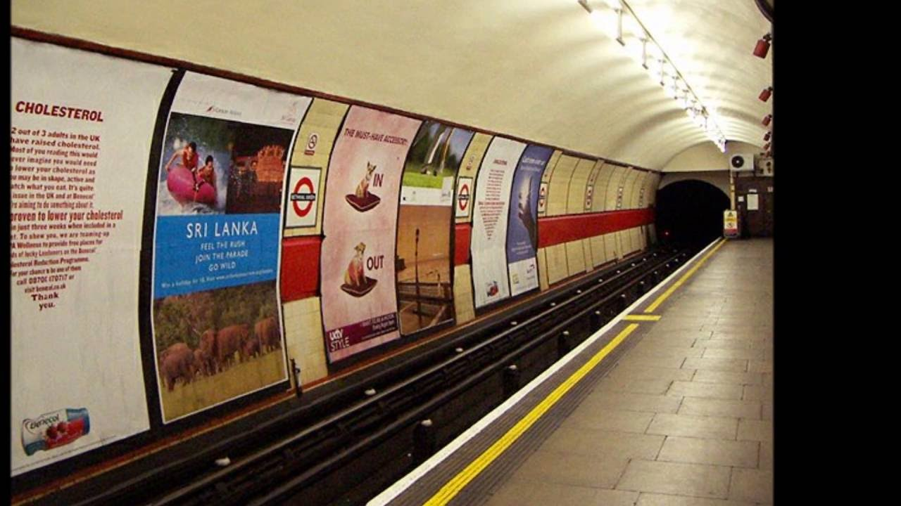 Top 10 Haunted London Underground Stations - YouTube London Underground Stations