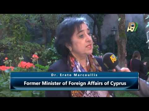 Dr. Erato Marcoullis, Former Minister of Foreign Affairs of Cyprus