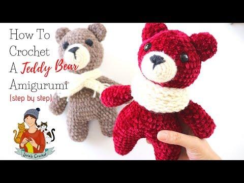 crochet-simplest-amigurumi-teddy-bear-for-beginners-step-by-step