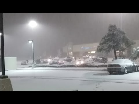 Snow Storm In Albuquerque NM (2018)