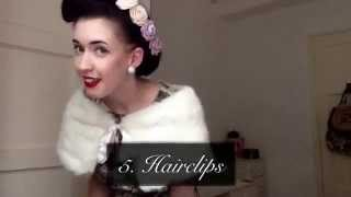 How to 1940s Vintage Style Fashion Top Tips Tutorial | Alice Donnelly