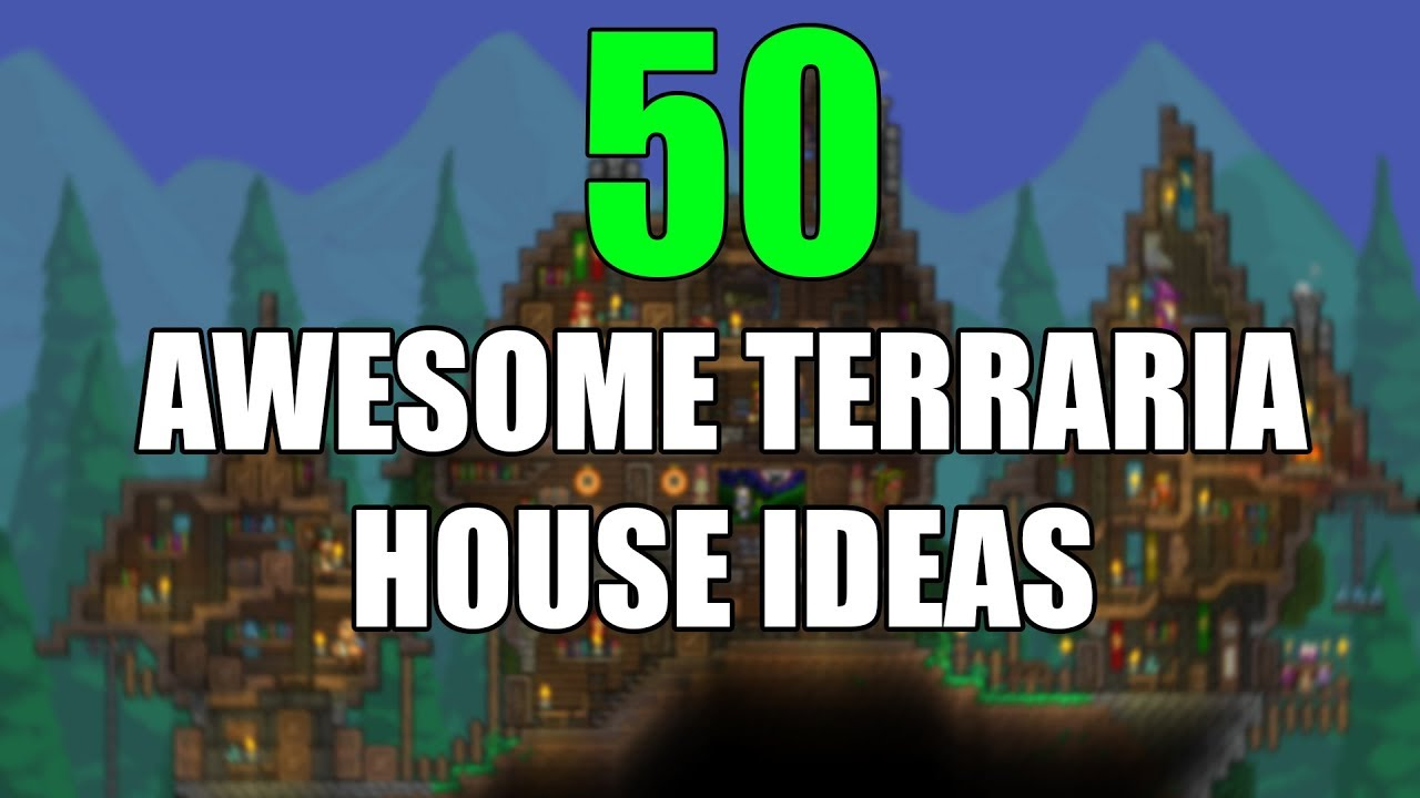 50 Awesome Terraria House Ideas Terraria Base Designs