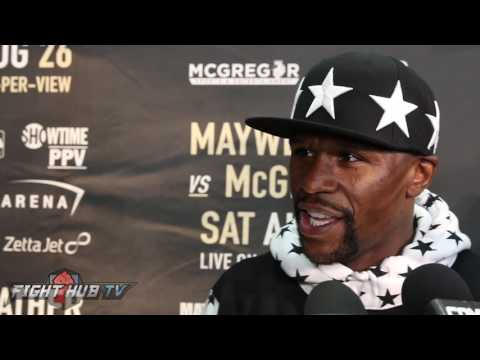 Thumbnail: FLOYD MAYWEATHER MAKES FINAL JAB AT PACQUIAO! REACTS TO HORN FIGHT
