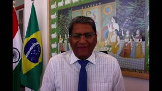 ICC Digital Healthcare Expo Message by Indian Ambassador in Brazil
