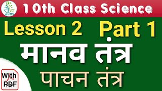 Science Class 10th (Digestion System पाचन तंत्र)