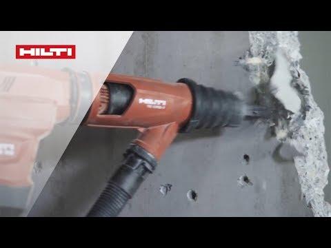 Hilti TE 60-AVR и TE 60-AVR/ATC. Применение в электрике