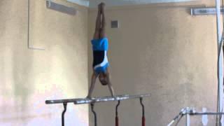 Спортивная гимнастика - брусья