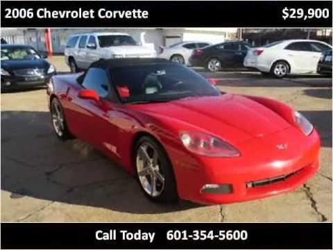 2006 Chevrolet Corvette Used Cars Jackson Ms Youtube