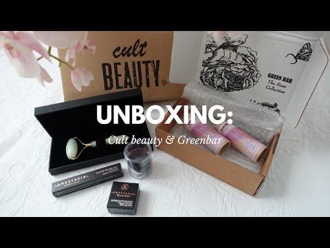 UNBOXING: GREENBAR AND CULT BEAUTY | PEARLBYAZZA