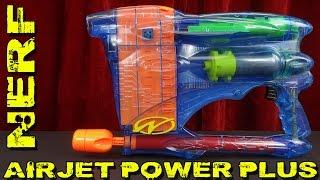"""""""NERF AIRJET POWER PLUS"""" -Vorstellung des oldschool Blasters"""