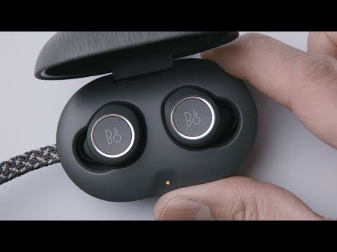 B&O PLAY Bang & Olufsen Beoplay E8 TRULY WIRELESS In-Ear headphones -  Unboxing