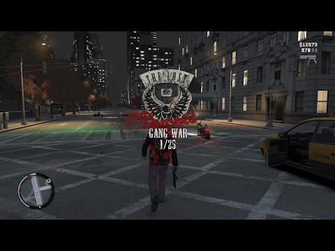 GTA 4 - The Lost and Damned - 25 Gang Wars