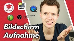 Das beste Bildschirm Aufnahme Programm / Screen Capture Software für YouTube | #wiegehtyoutube