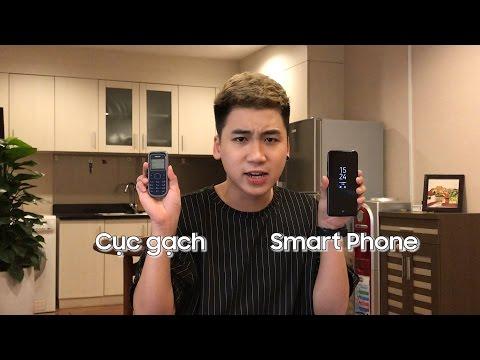Review so sánh : Nokia cục gạch và Galaxy S8