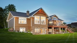 Custom River Home by Dickinson Homes