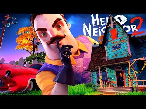 ПРИВЕТ СОСЕД ПРИЕХАЛ ЗА МНОЙ! ► Hello Neighbor 2 Alpha 1 Полное прохождение #2