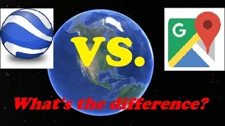 Google Maps vs. Google Earth: What's the Difference? Free HD Video