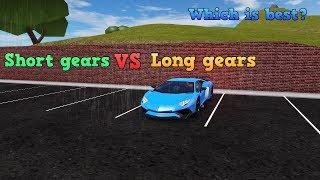 Short Gears VS Long Gears? | Roblox Vehicle Simulator