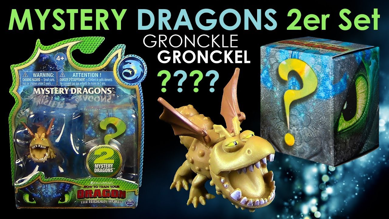 2er Set Dragons 3 Mystery Dragons 2er Set Gronckel Gronckle Unboxing Review