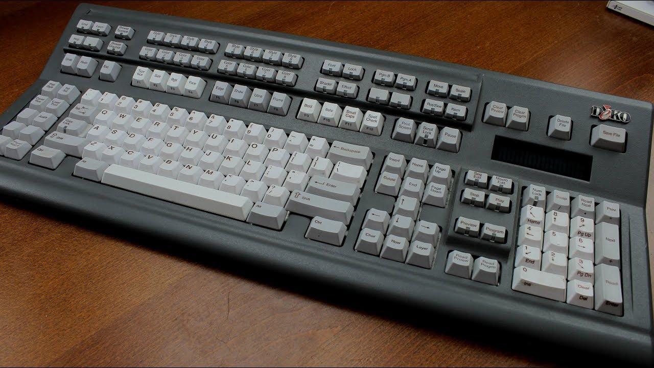 Deko Fast Action Keyboard review (Cherry MX Black)