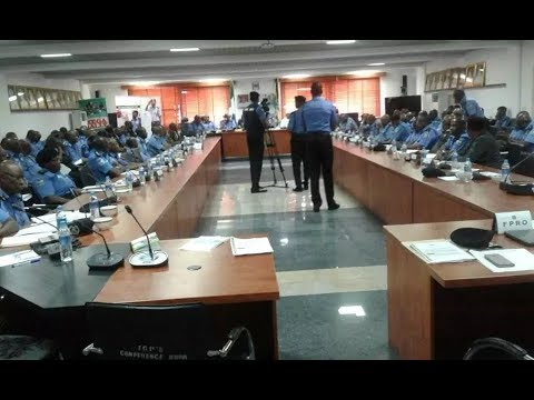 Nigeria's police chiefs meet amid tension over quit notice to Igbos in north (photos)