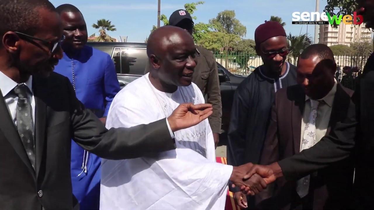 Défilé des candidats à la Rts, l'arrivée d'Idrissa Seck