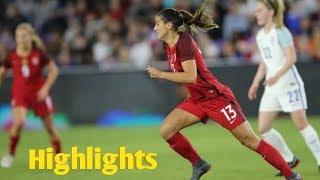 USA vs. Mexico ●2018 Women's International Friendly Highlights HD 