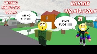 ROBLOX #18 meeting karva and fudsim (part 1)