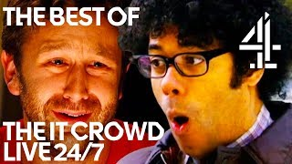 The IT Crowd Best & Funniest Moments!! | 24/7 Live Stream