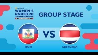 CU20W: Haiti vs. Costa Rica