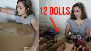 opening another 12 ag dolls