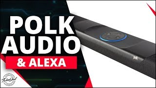 Command Bar Unboxing, Setup, & Giveaway | Polk Audio's Soundbar with Alexa Built In!