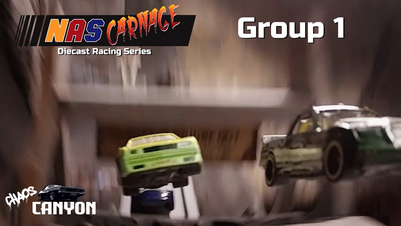 NASCARNAGE: Group 1 -  Diecast Race Series